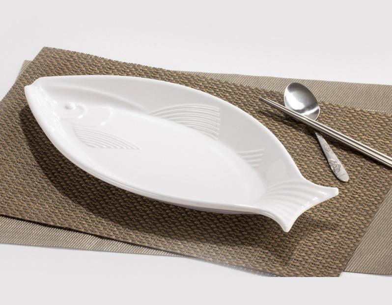 тарелка для рыбы