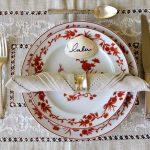 тарелки для сервировки стола дизайн идеи