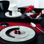 тарелки для сервировки стола виды фото