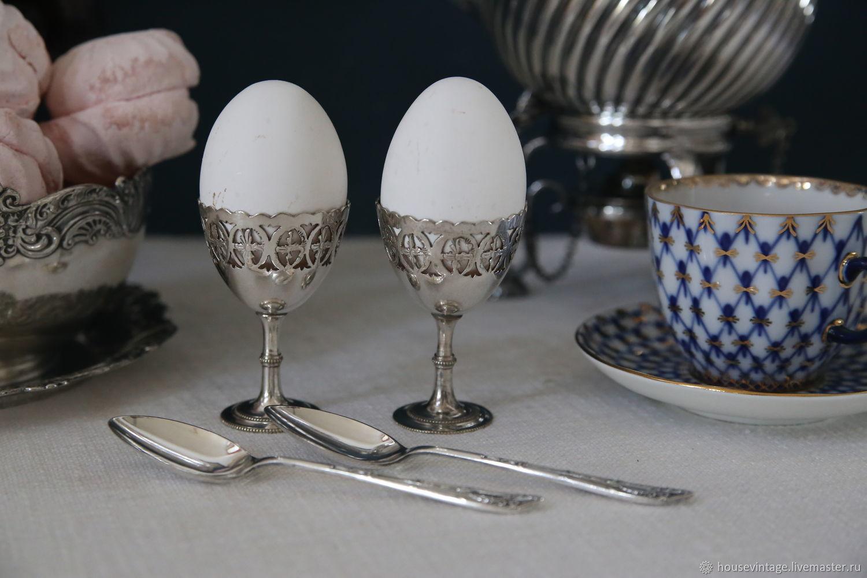 винтажные подставки для яиц
