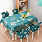 водостойкая скатерть на стол для кухни