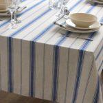 водостойкая скатерть на стол для кухни оформление