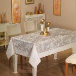 водостойкая скатерть на стол для кухни идеи оформление