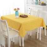 водостойкая скатерть на стол для кухни обзор фото