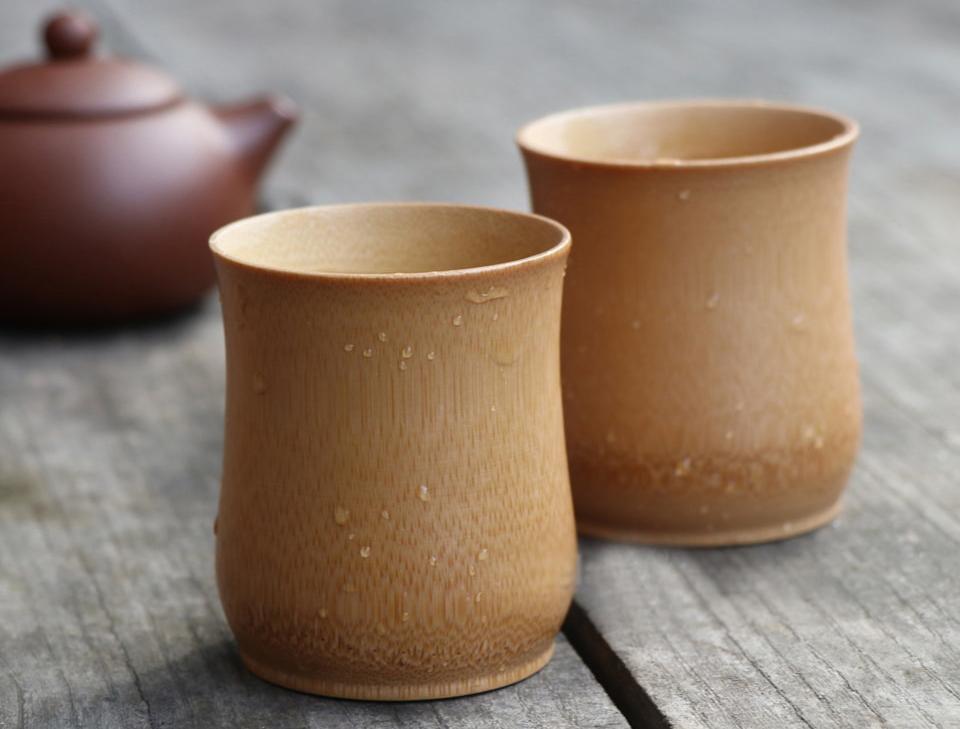 бамбуковые чашки