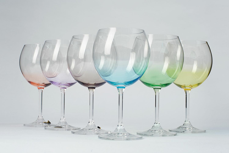 винные бокалы богемия