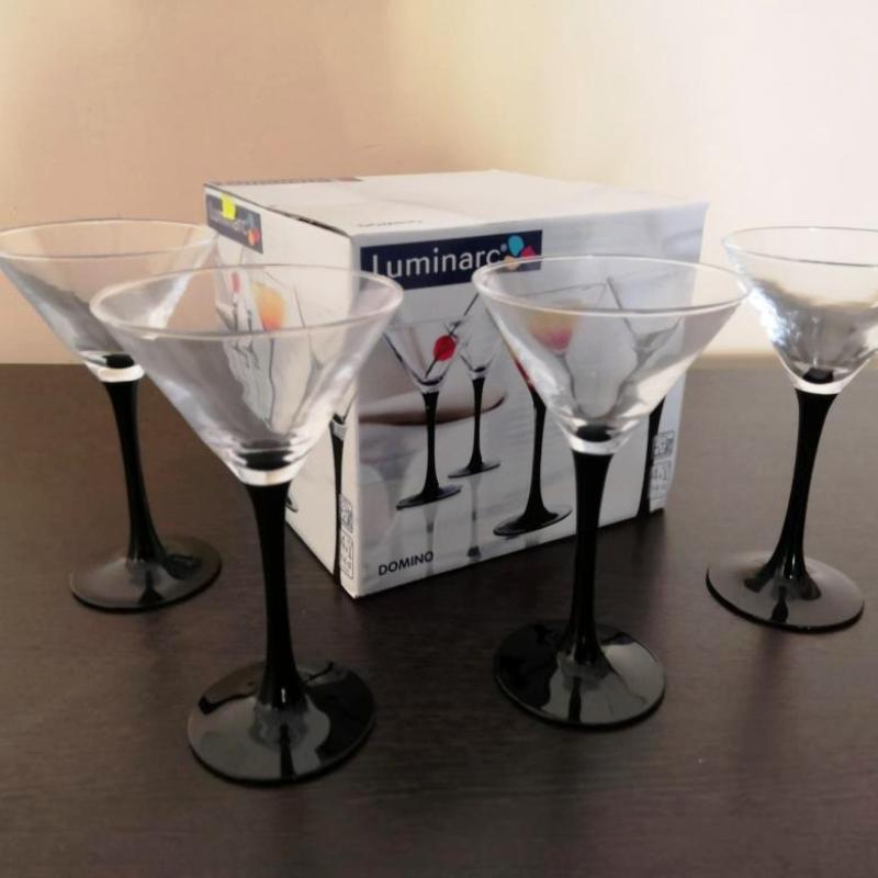 бокалы для мартини люминарк