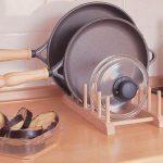хранение крышек на кухне фото