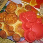 кексы мишки в силиконовых формах