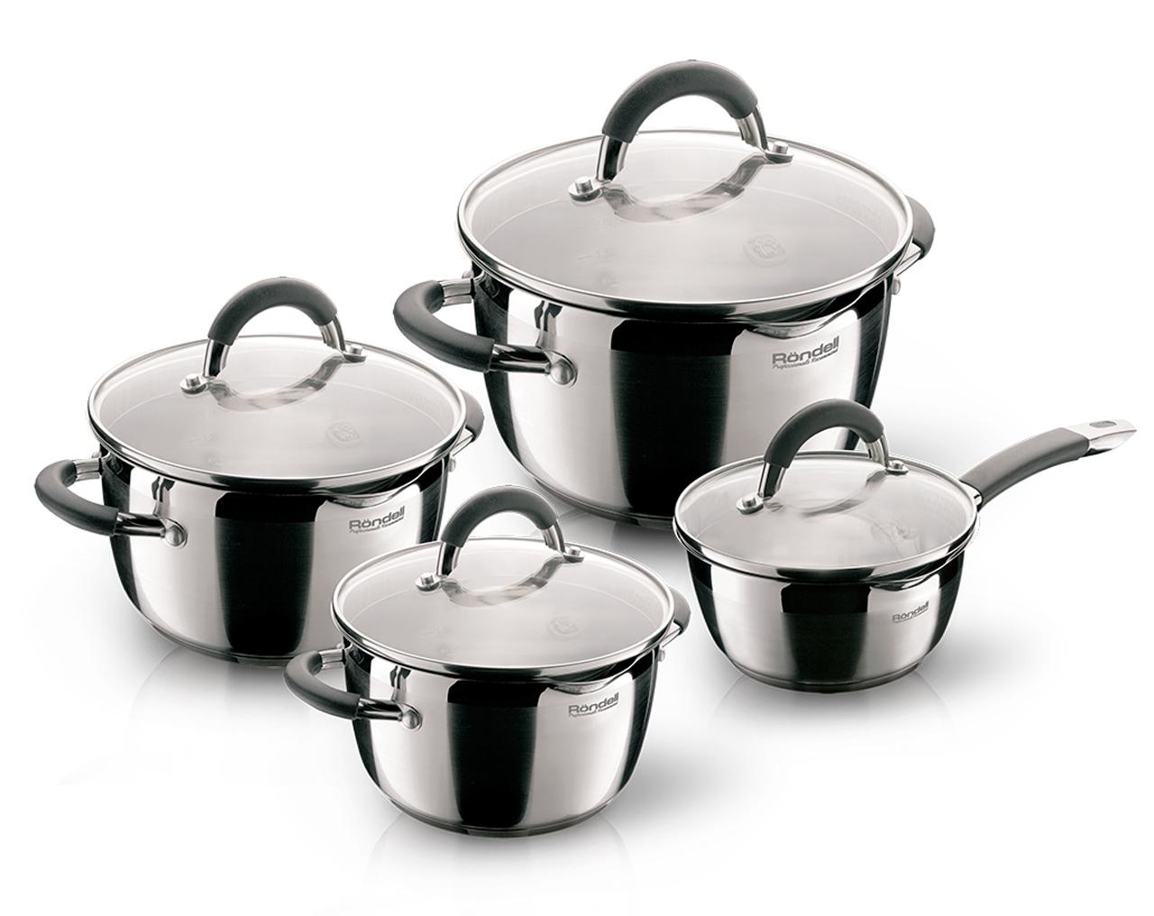 Набор посуды Rondell Flamme