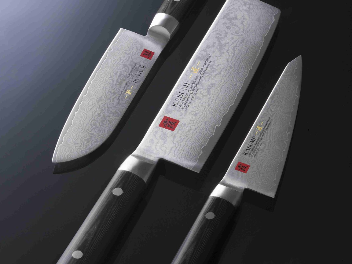 Фото ножей Kasumi