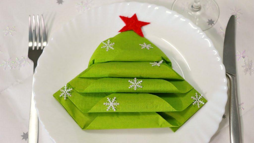 зеленые салфетки