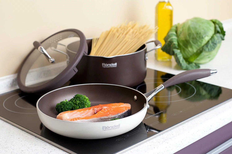 Посуда Rondell на индукционной плите