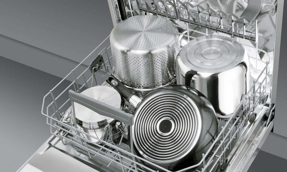 посуда в посудомоечой машине