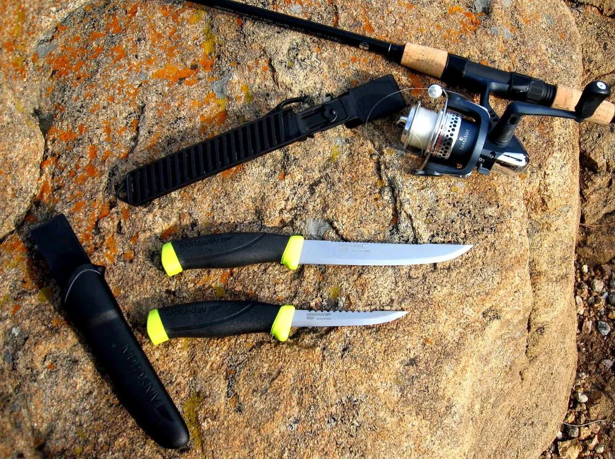 Рыбацкие ножи для рыбы