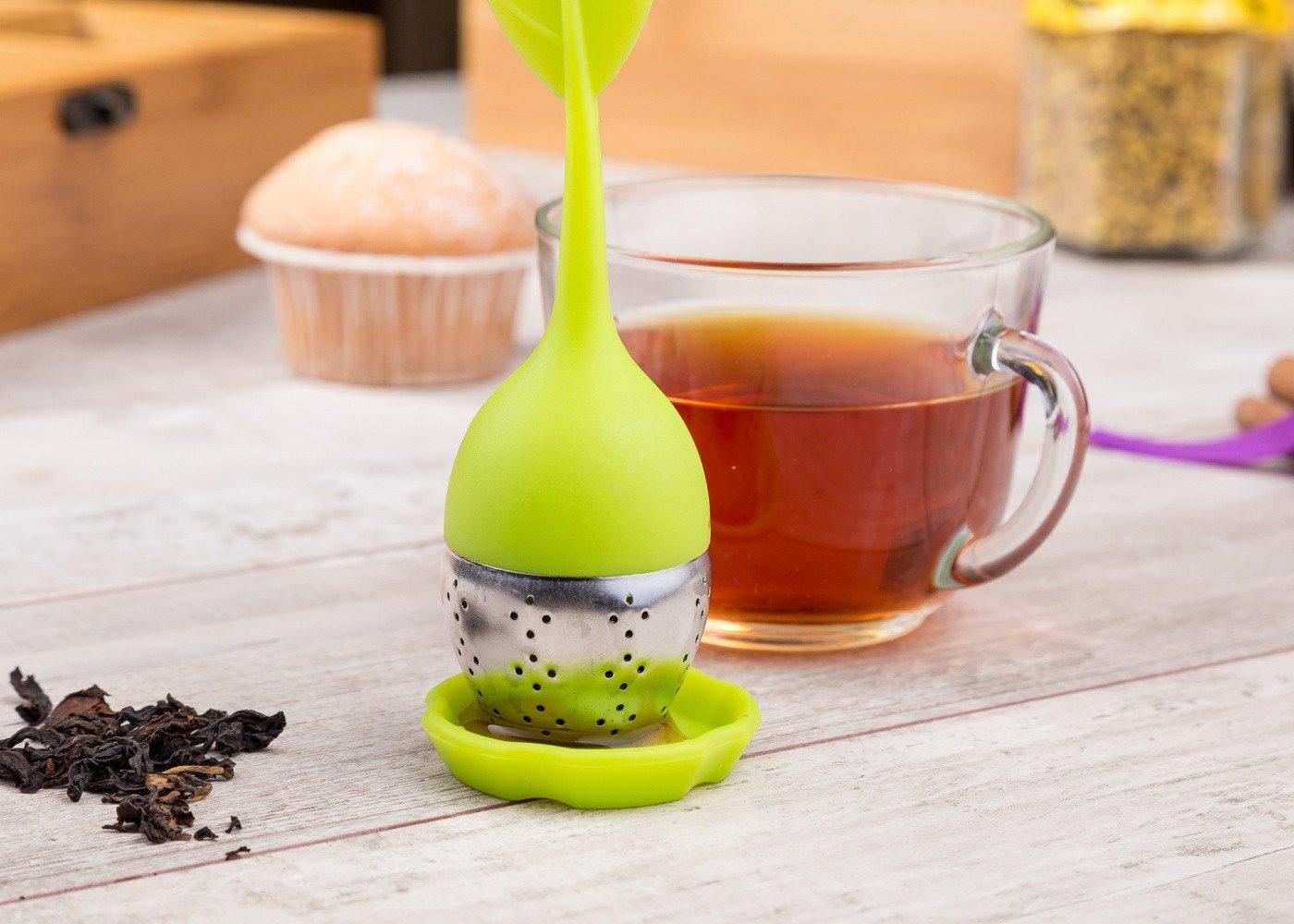 Ситечко для чая с чашкой