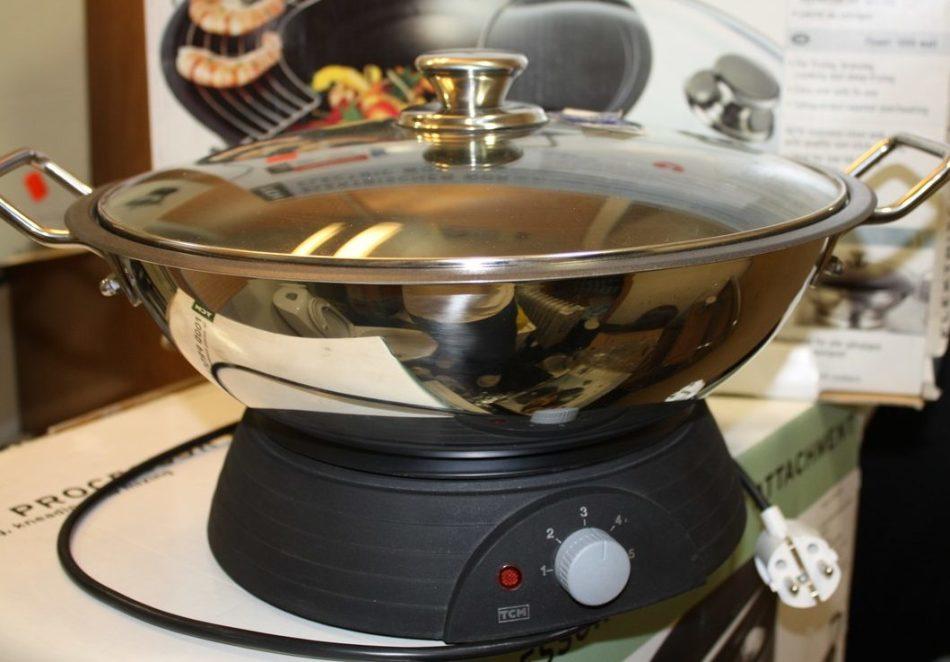 Электрическая сковорода вок