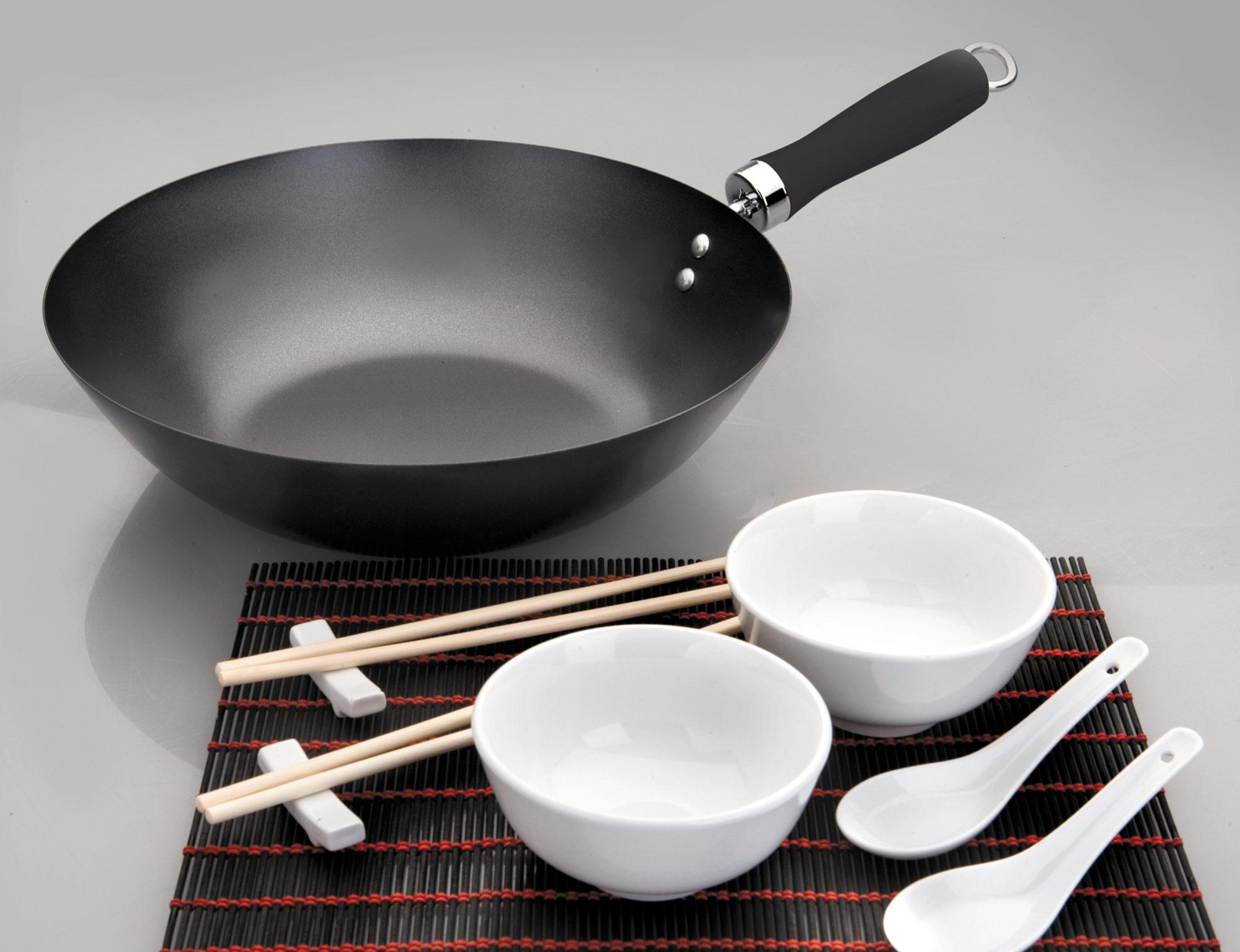 Сковорода вок из алюминия