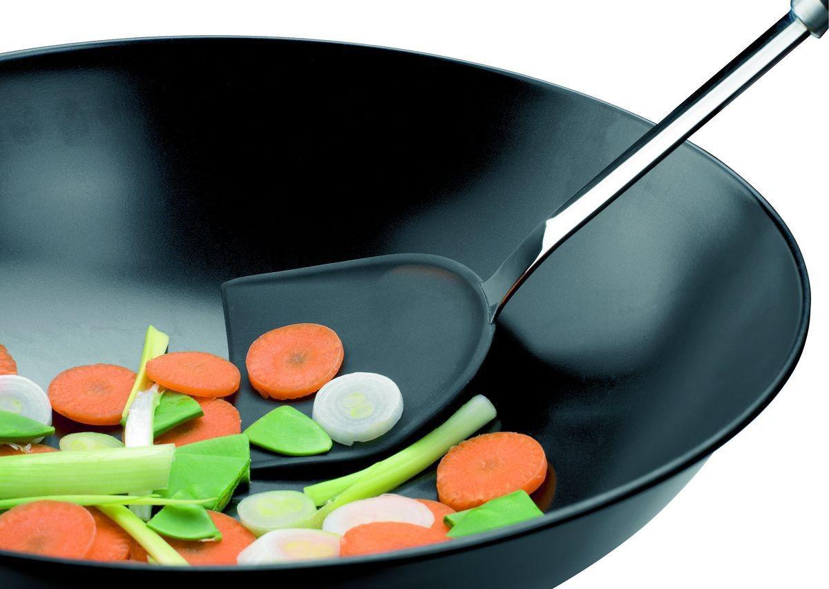 Сковорода вок с лопаткой