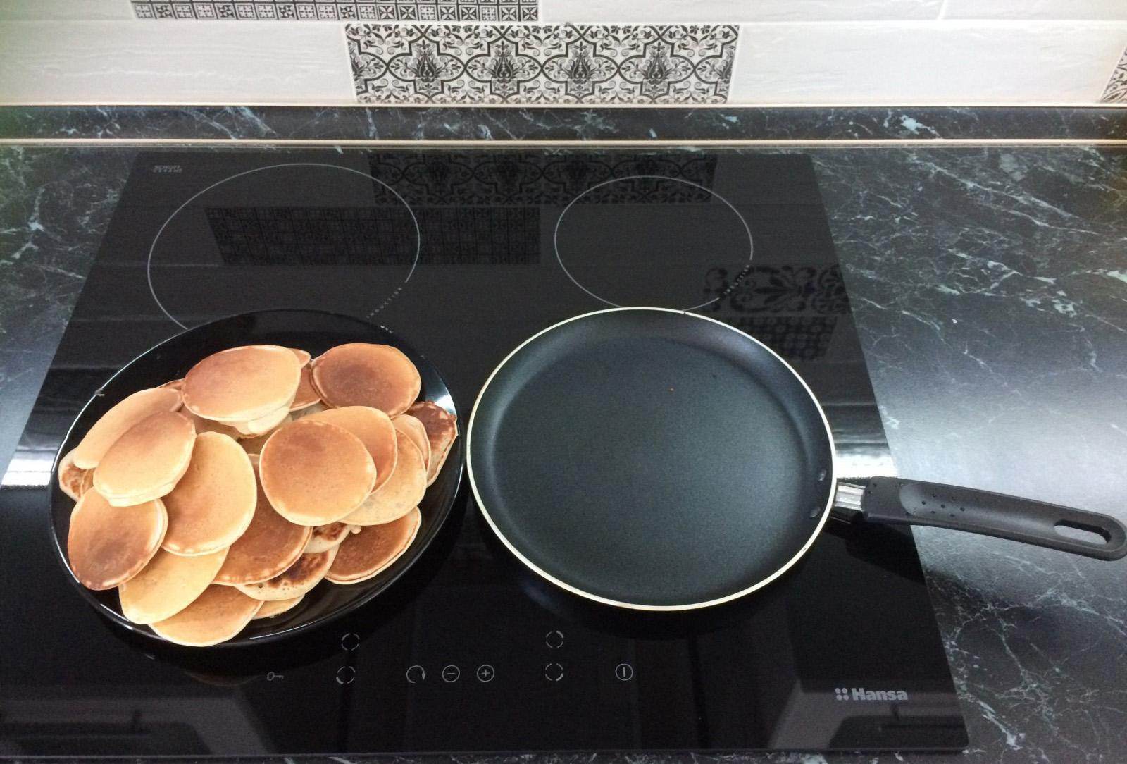 Сковородка на индукционной плите