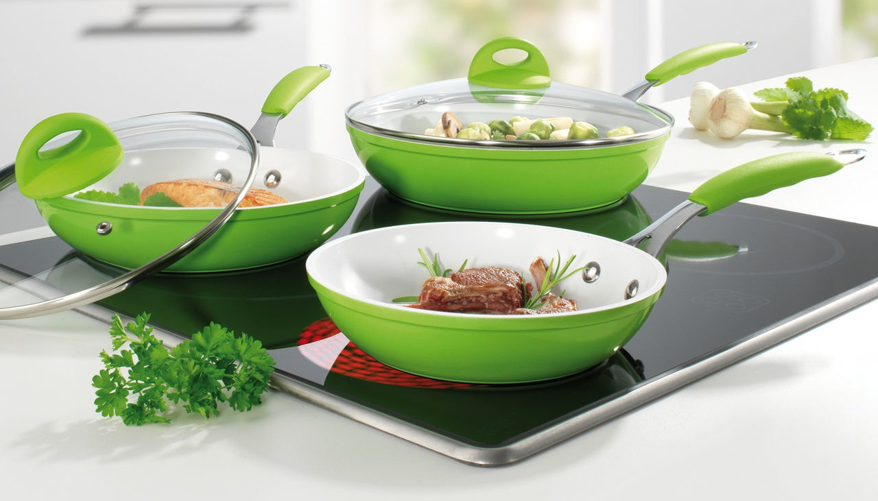 Фото сковороды с керамическим покрытием