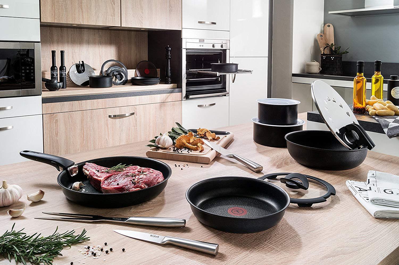 Сковорода Тефаль на кухне