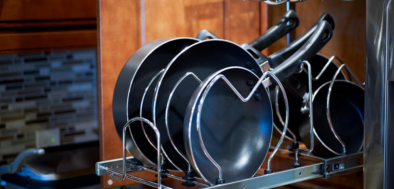 сковороды в посудомоечной машине