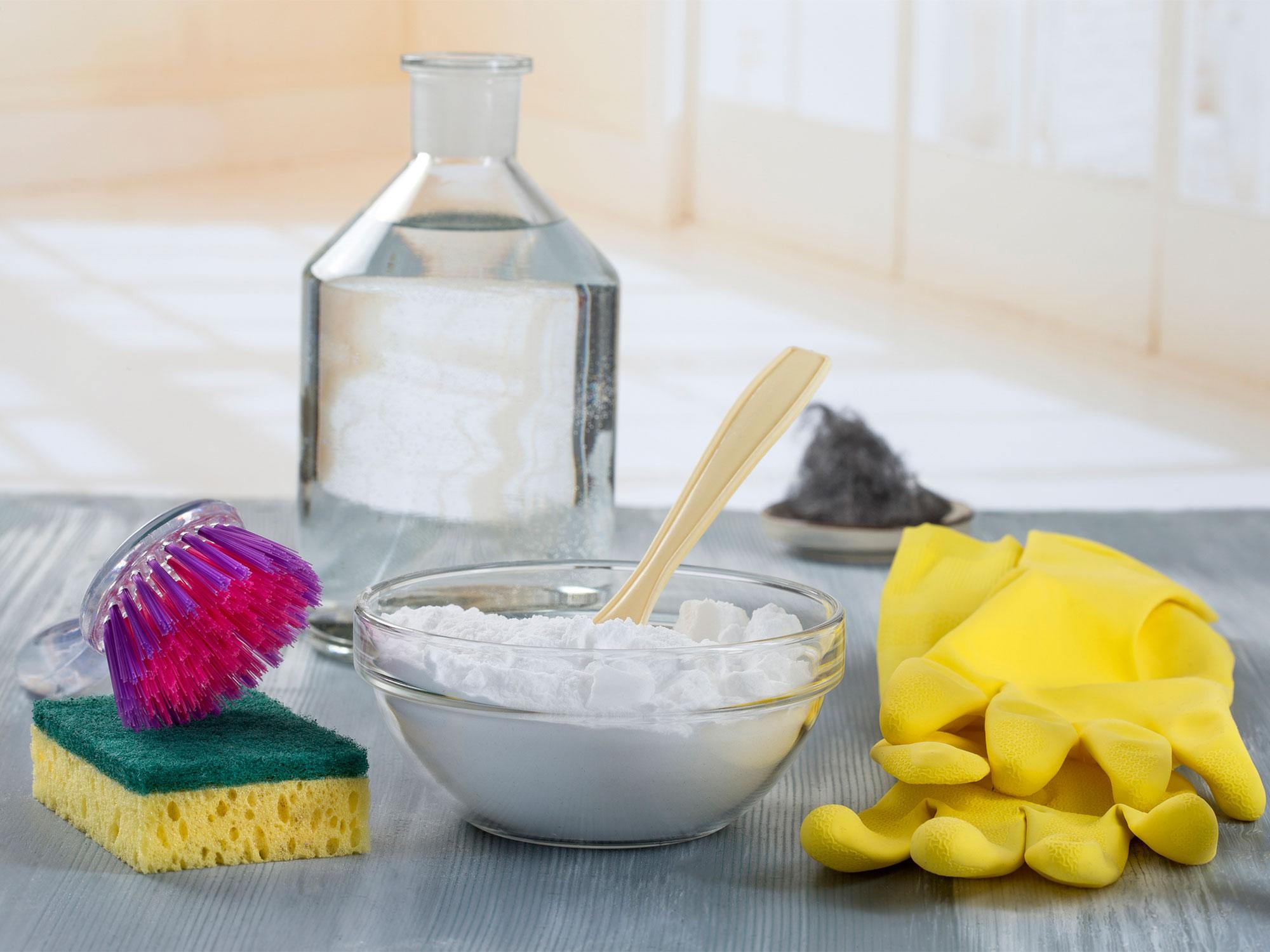 сода соль и уксус