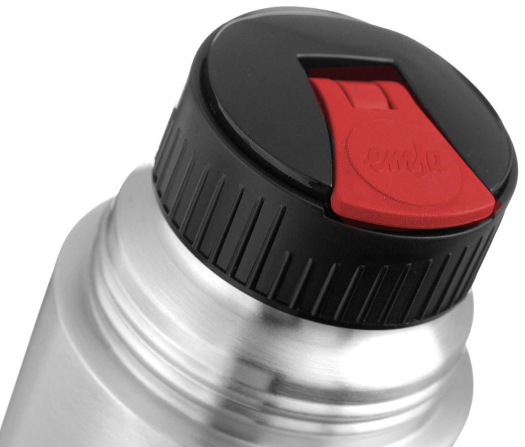 Термос с крышкой-клапаном