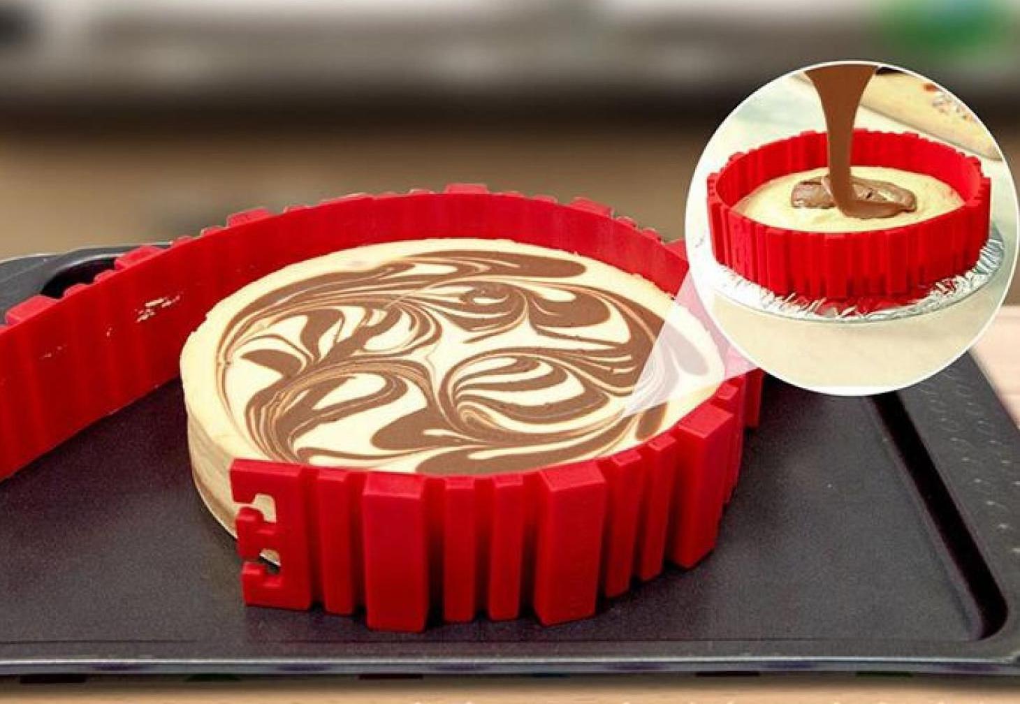 торт в силиконовой форме