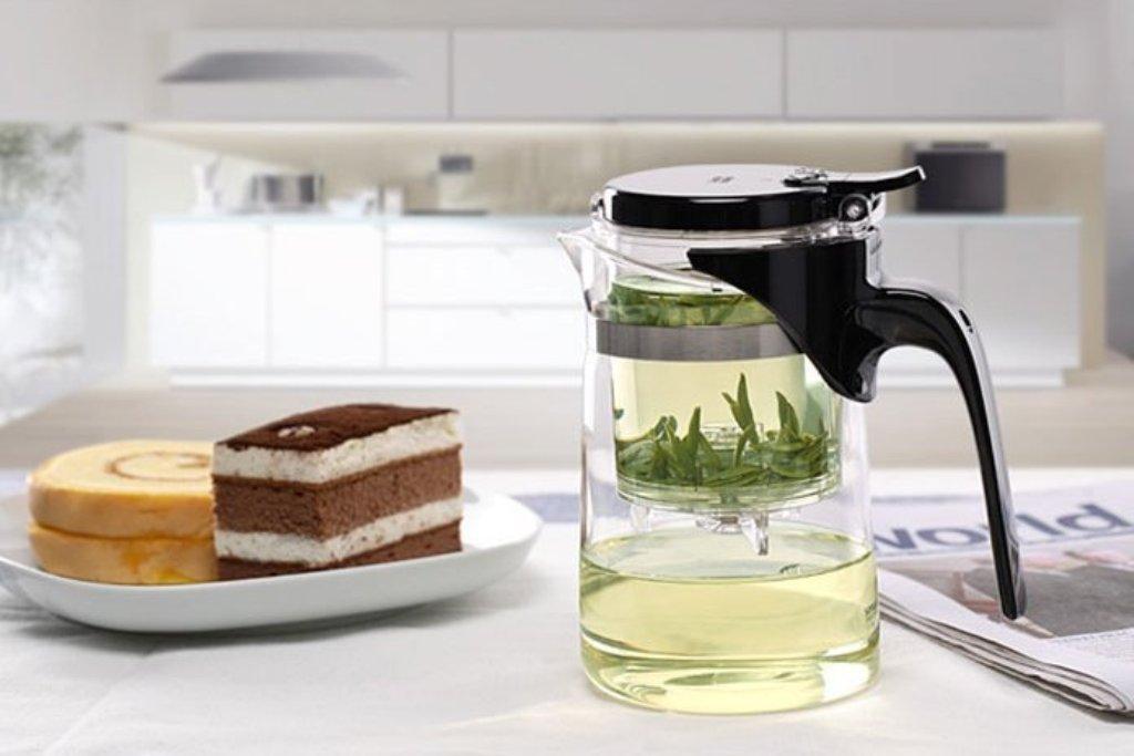 заварочный чайник с кнопкой фото