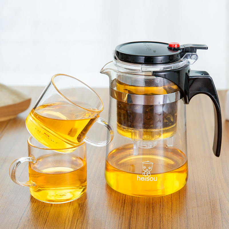 заварочный чайник с кнопкой слива дизайн