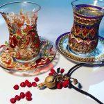 турецкие армуды для чая идеи декора