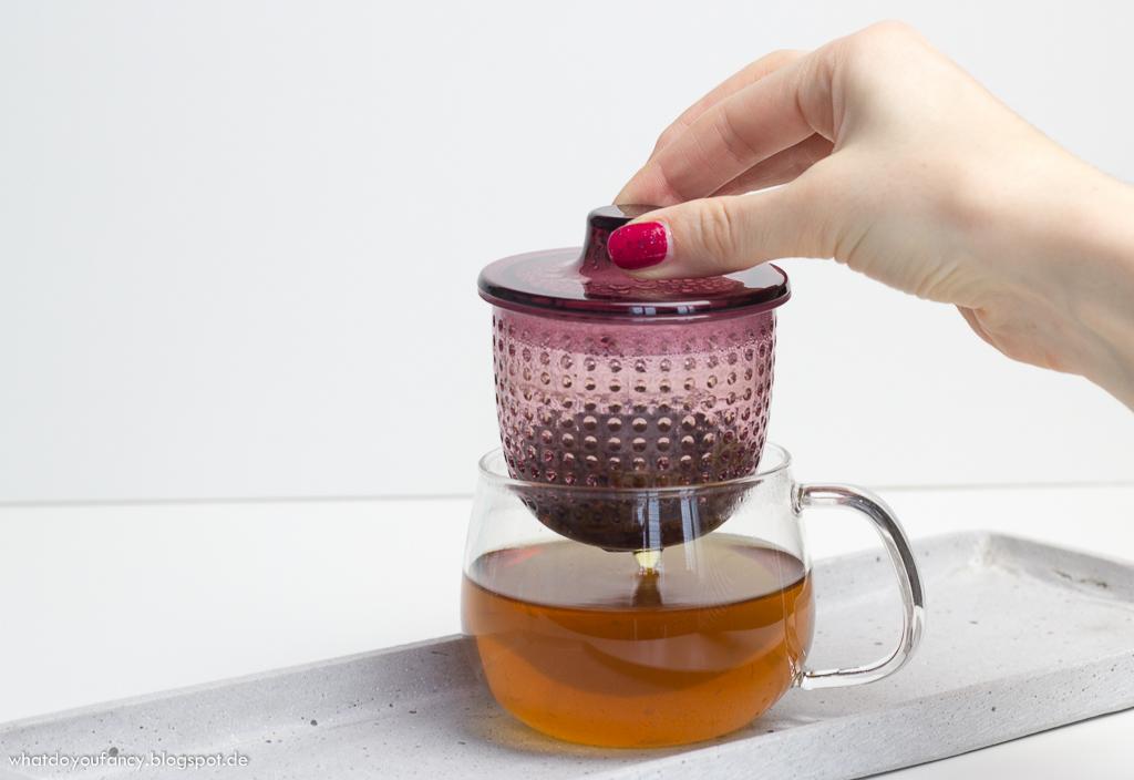 чашка с заварником