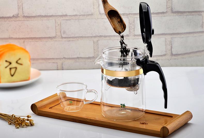гунфу заварочный чайник с кнопкой