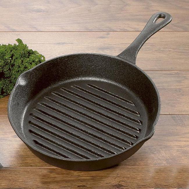 чистка и хранение сковороды