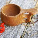 деревянная кружка декор фото