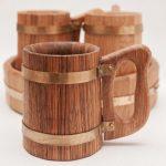 деревянная кружка оформление фото
