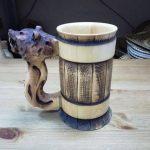деревянная кружка фото видов