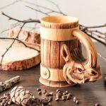 деревянная кружка виды дизайна