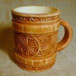 деревянная кружка варианты декора