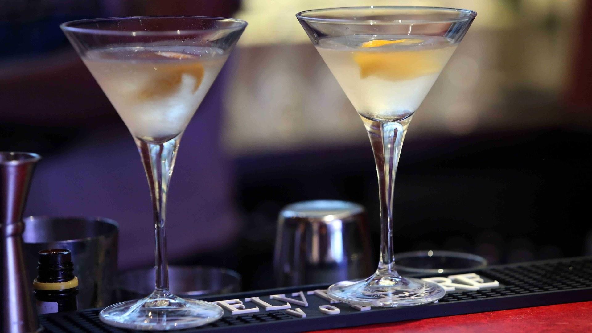 фото бокалов мартини