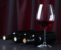 фужер с вином