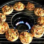 готовка на сковороде гриль газ