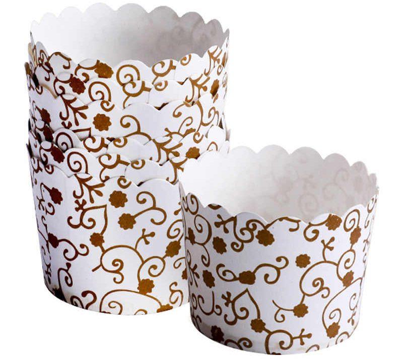 картонные стаканчики для маффинов