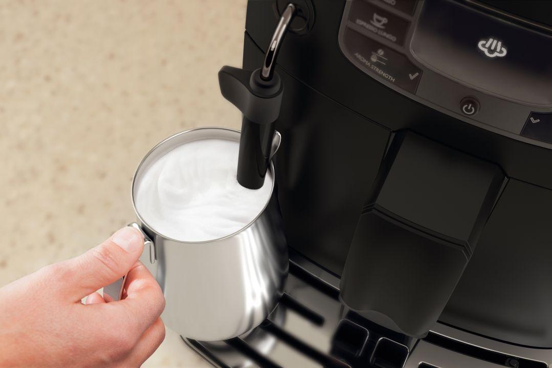 кофемашина с ручным капучинатором