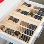 лоток для столовых приборов варианты дизайна