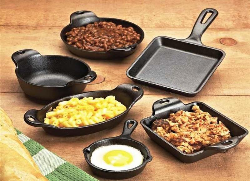 модели сковород лодж