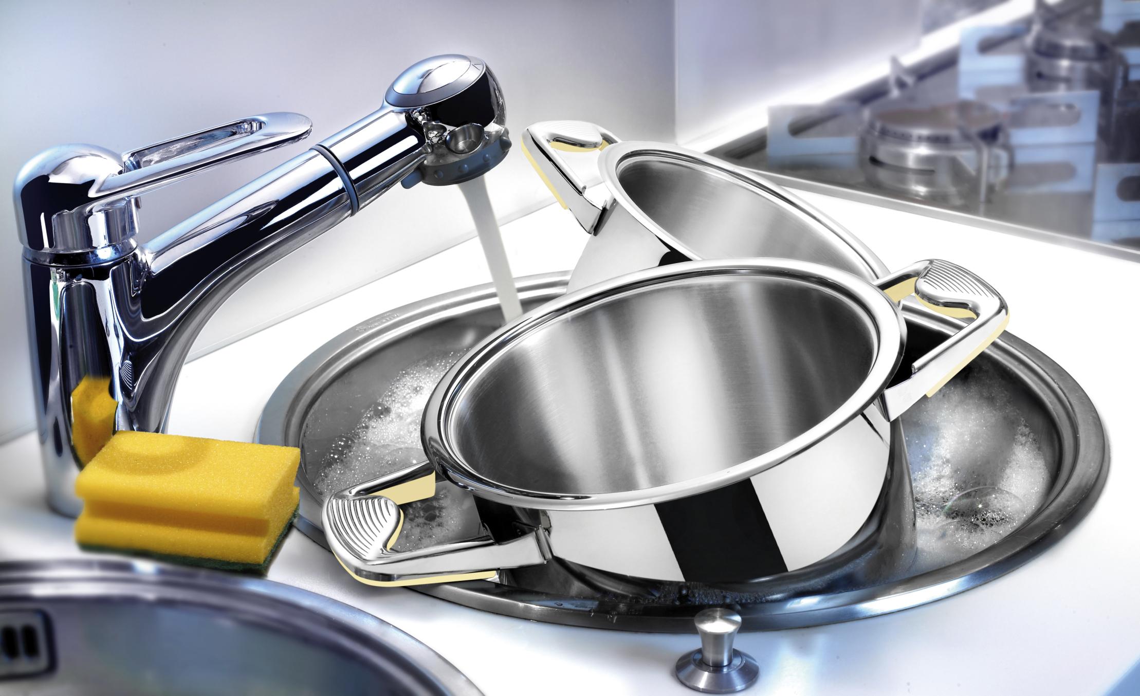мойка посуды