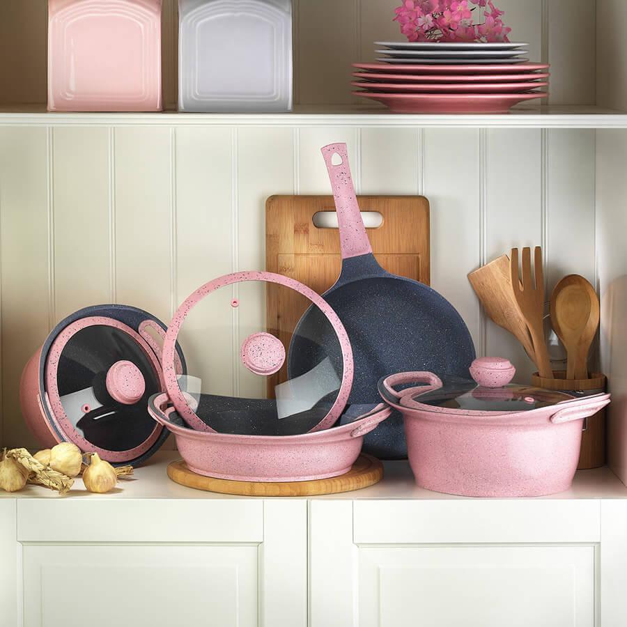 набор мраморной посуды